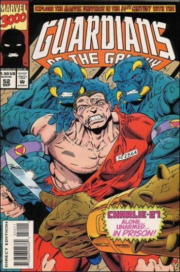 GUARDIANS OF THE GALAXY #52 VF/NM (1990)