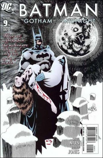 BATMAN GOTHAM AFTER MIDNIGHT #9 NM(2009)