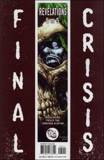FINAL CRISIS REVELATIONS #5 NM (2009)  �A� COVER