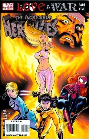 INCREDIBLE HERCULES #125 NM (2009) LOVE & WAR