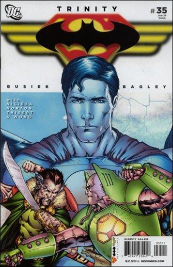TRINITY #35 NM (2009) SUPERMAN, BATMAN, WONDER WOMAN
