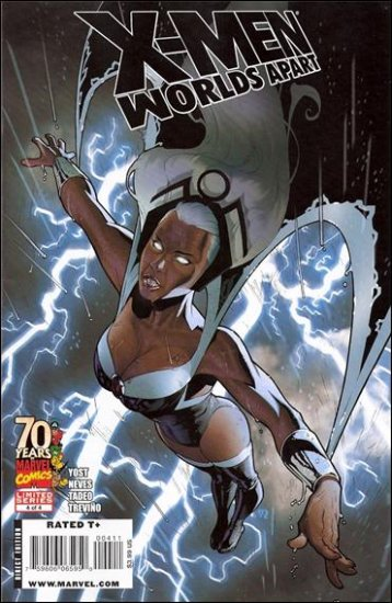 X-MEN WORLDS APART #4 NM (2009)