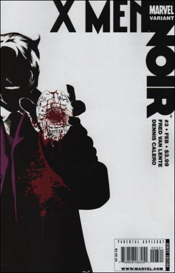 X-MEN NOIR #3 NM (2009)VARIANT COVER