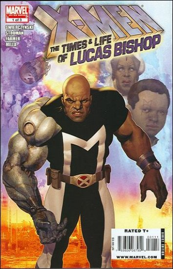 X-MEN THE TIMES & LIFE OF LUCAS BISHOP #1 NM (2009)