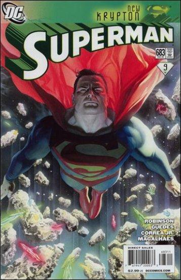 SUPERMAN #683 NM (2009) NEW KRYPTON
