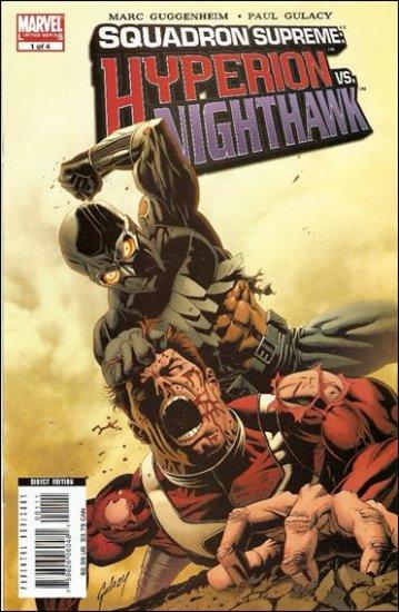 SQUADRON SUPREME : HYPERION VS. NIGHTWAWK #1 NM