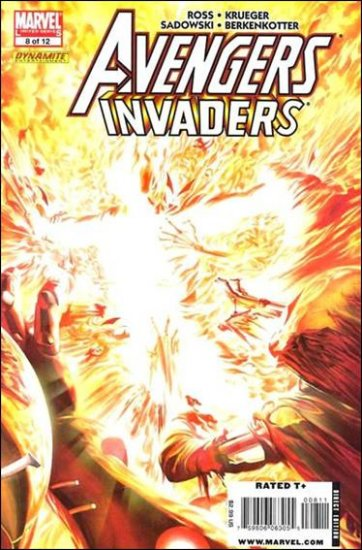 AVENGERS INVADERS #8 NM (2009)