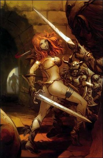 RED SONJA #11 VF/NM QUEEN COVER  *DYNAMITE*