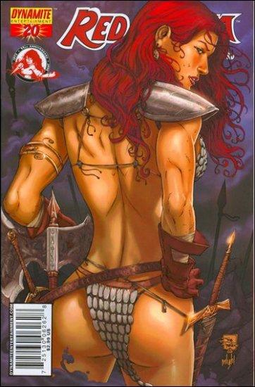 RED SONJA #20 VF/NM PRADO COVER  *DYNAMITE*