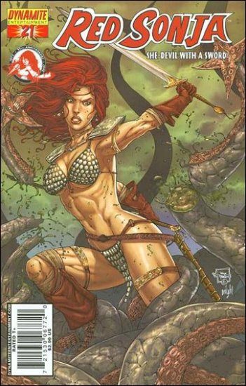 RED SONJA #21 VF/NM HOMS COVER *DYNAMITE*