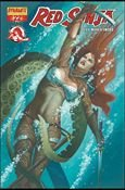 RED SONJA #22 VF/NM BECK COVER  *DYNAMITE*