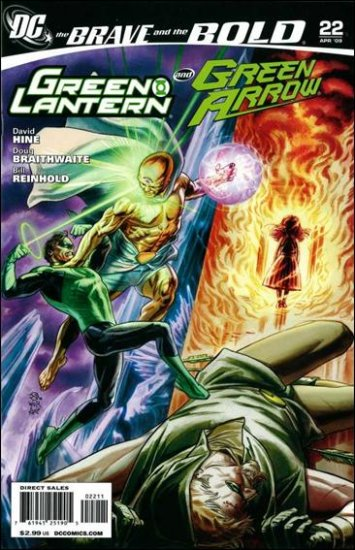 BRAVE AND THE BOLD #22 NM (2009) GREEN LANTERN & GREEN ARROW