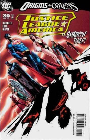 JUSTICE LEAGUE OF AMERICA #30 NM (2009)