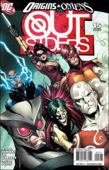 OUTSIDERS #15 NM (2009)
