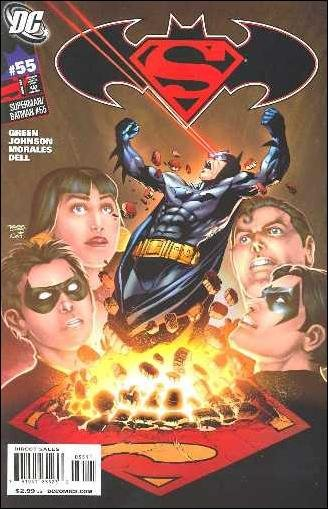 SUPERMAN BATMAN # 55 NM (2009)