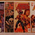 AVENGERS HOUSE OF M: 1-5 LIMITED SERIES VF/NM COMPLETE SET