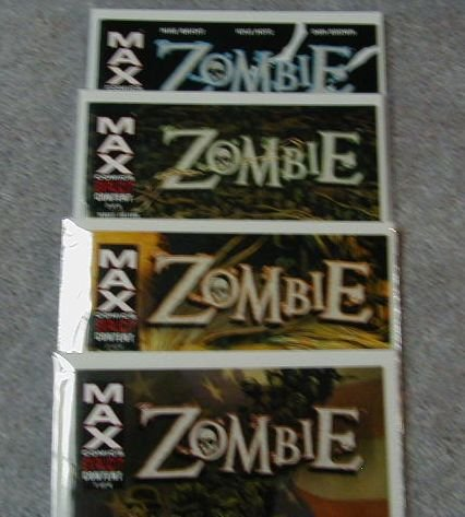ZOMBIE: 1-4 LIMITED SERIES VF/NM COMPLETE SET