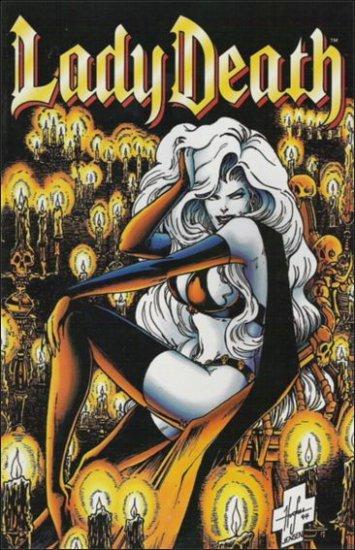 LADY DEATH II BETWEEN HEAVEN & HELL #2 (1995)