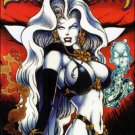 LADY DEATH II BETWEEN HEAVEN & HELL #4 (1995)