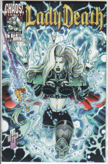 LADY DEATH WICKED WAYS #1 (1998)
