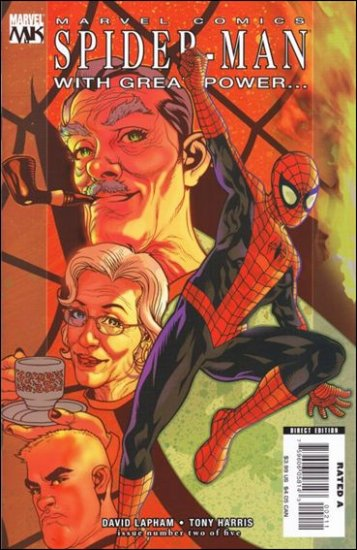 SPIDER-MAN WITH GREAT POWER #2 NM(2008)