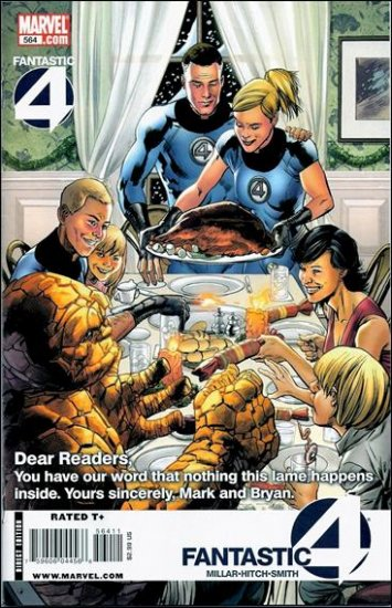 FANTASTIC FOUR #564 NM (2009)