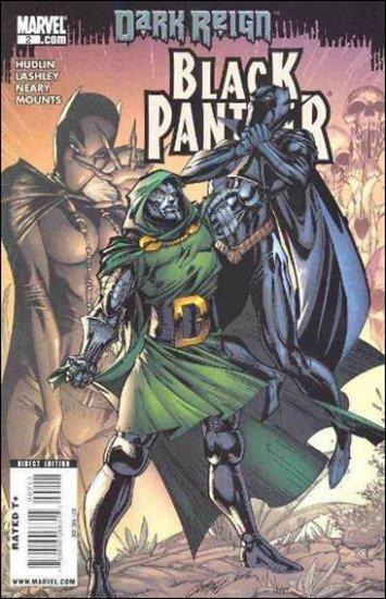 BLACK PANTHER #2 NM (2009)