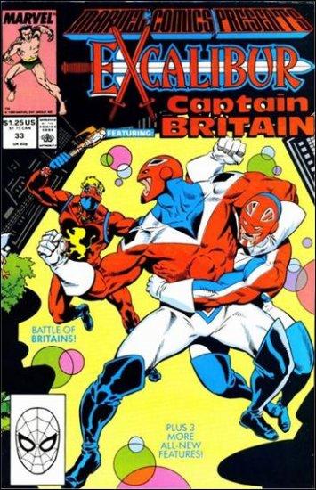 MARVEL COMICS PRESENTS (1988) #33 VF/NM