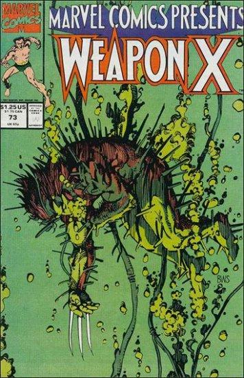 MARVEL COMICS PRESENTS (1988) #73 VF/NM