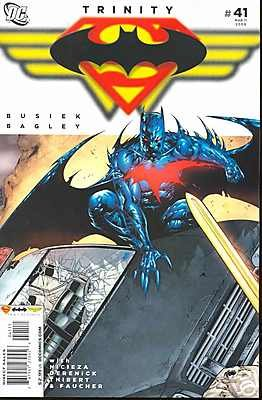 TRINITY #41 NM (2009) SUPERMAN, BATMAN, WONDER WOMAN