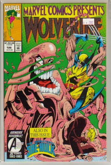 MARVEL COMICS PRESENTS (1988) #126 VF/NM
