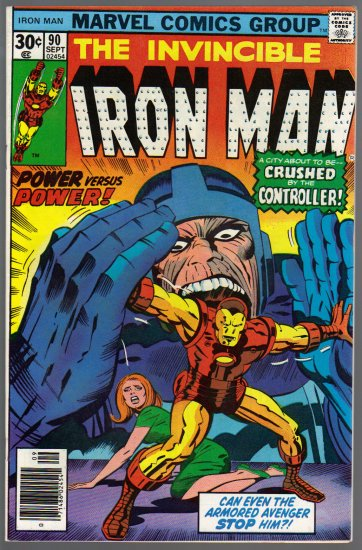 IRON MAN #90 VF/NM (1968)