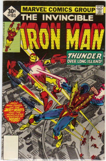 IRON MAN #103 F+ (1968)
