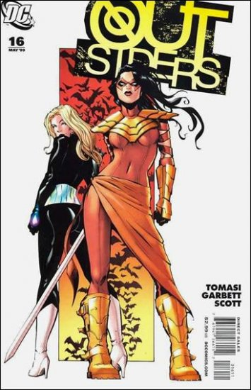 OUTSIDERS #16 NM (2009)