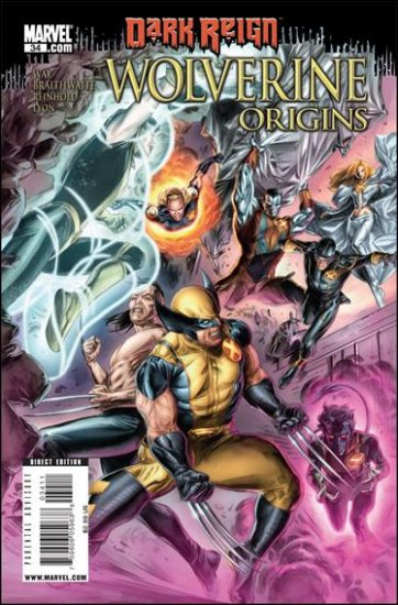 WOLVERINE ORIGINS #34 NM (2009)