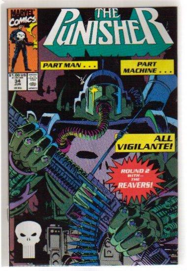 PUNISHER #35 VF/NM (1987)