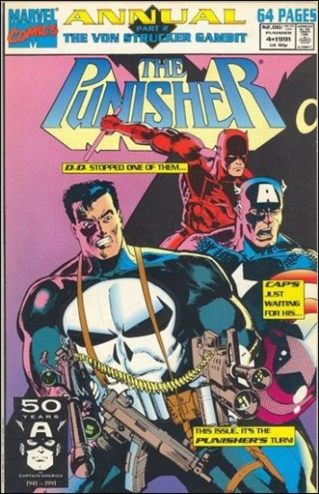 PUNISHER ANNUAL #4 VF/NM