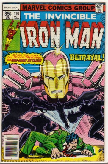 IRON MAN #115 F/VF (1968)