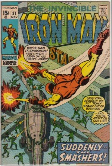 IRON MAN #31 VF (1968)