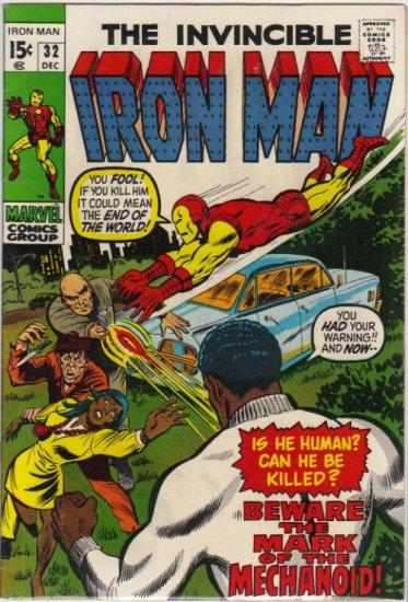IRON MAN #32 FN+ (1968)
