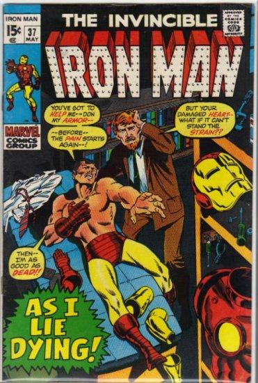 IRON MAN #37 FN (1968)