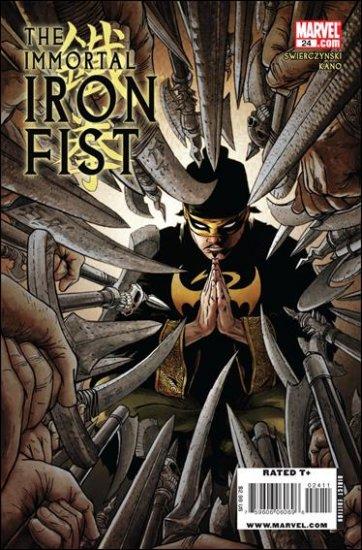 IMMORTAL IRON FIST #24 NM (2009)