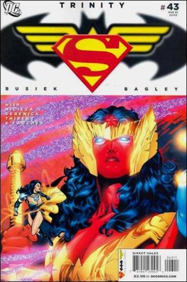 TRINITY #43 NM (2009) SUPERMAN, BATMAN, WONDER WOMAN