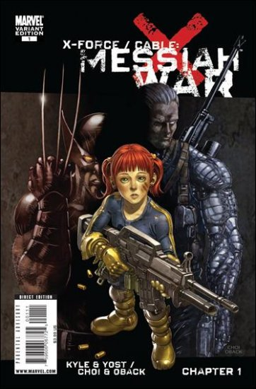 X-FORCE/CABLE MESSIAH WAR #1 NM (2009)VARIANT  ONESHOT