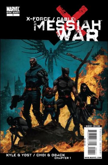 X-FORCE/CABLE MESSIAH WAR #1 NM (2009) ONESHOT