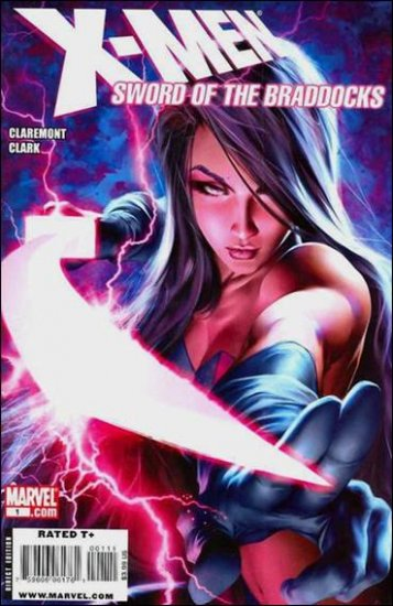 X-MEN SWORD OF THE BRADDOCKS #1 NM (2009)