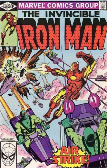 IRON MAN #140 VF/NM (1968)