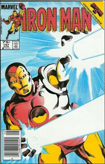 IRON MAN #197 VF (1968)
