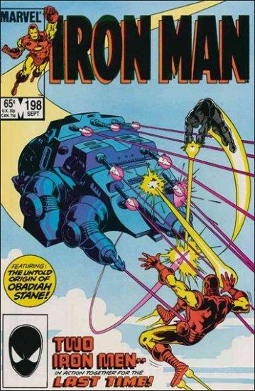 IRON MAN #198 FN/VF (1968)