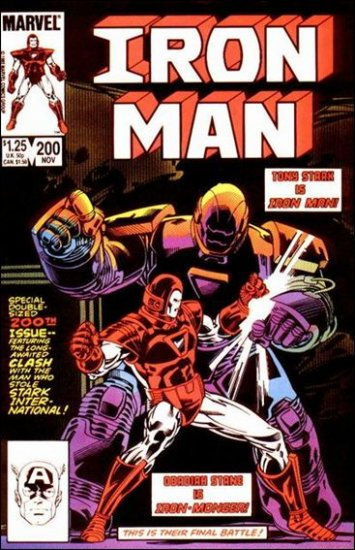 IRON MAN #200 VF (1968)